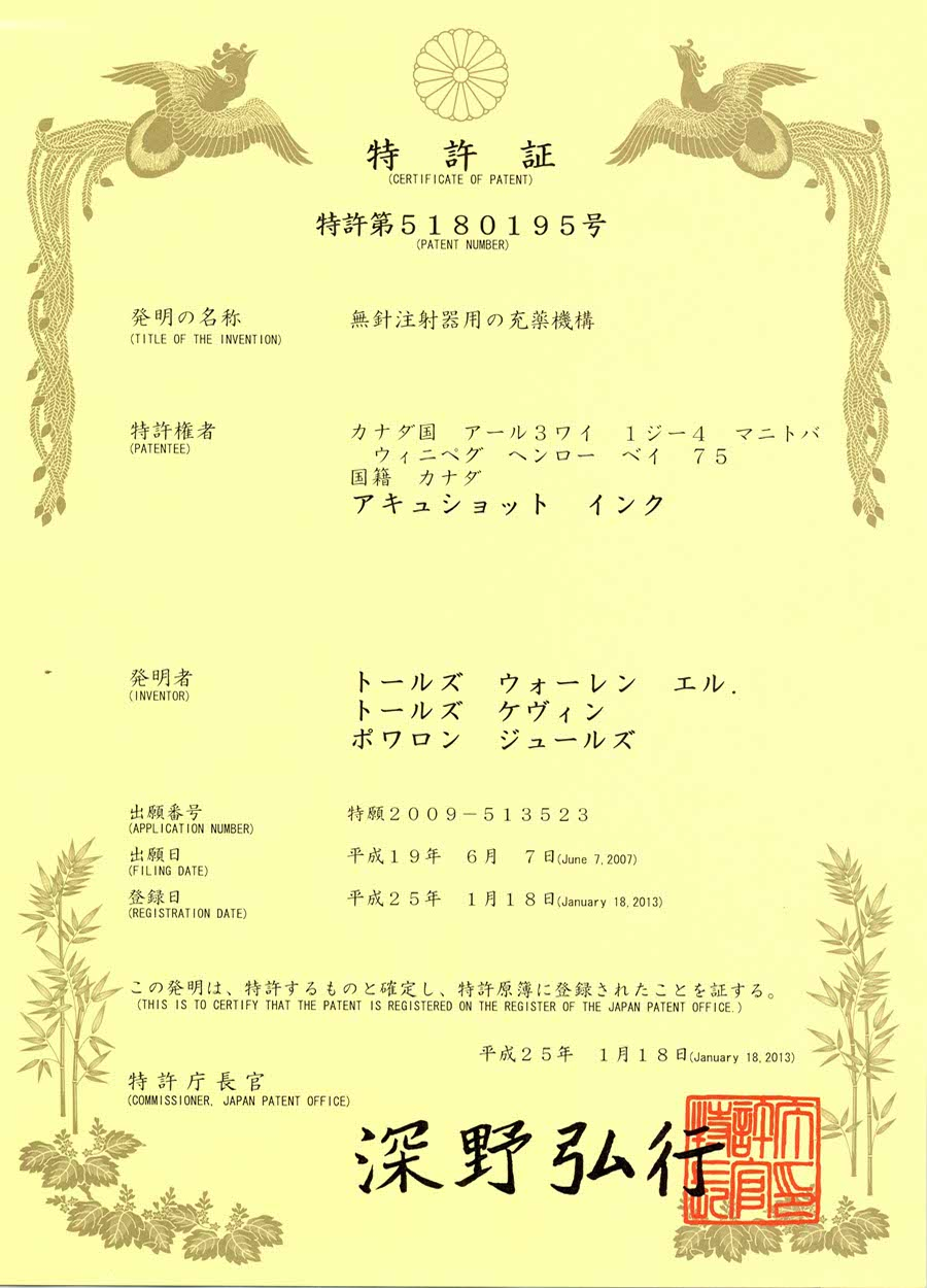 Japan Patent