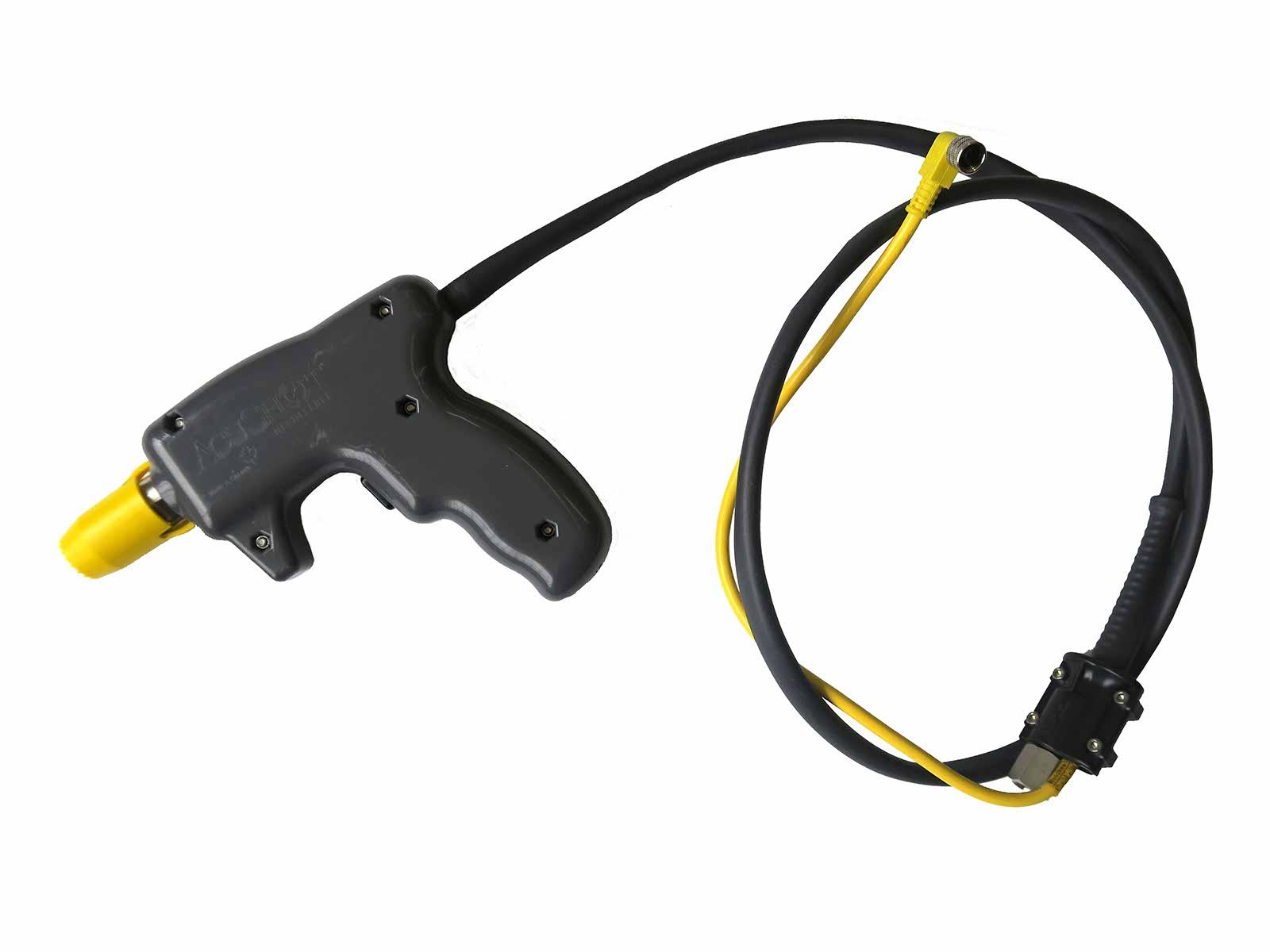 Remote extension hand piece