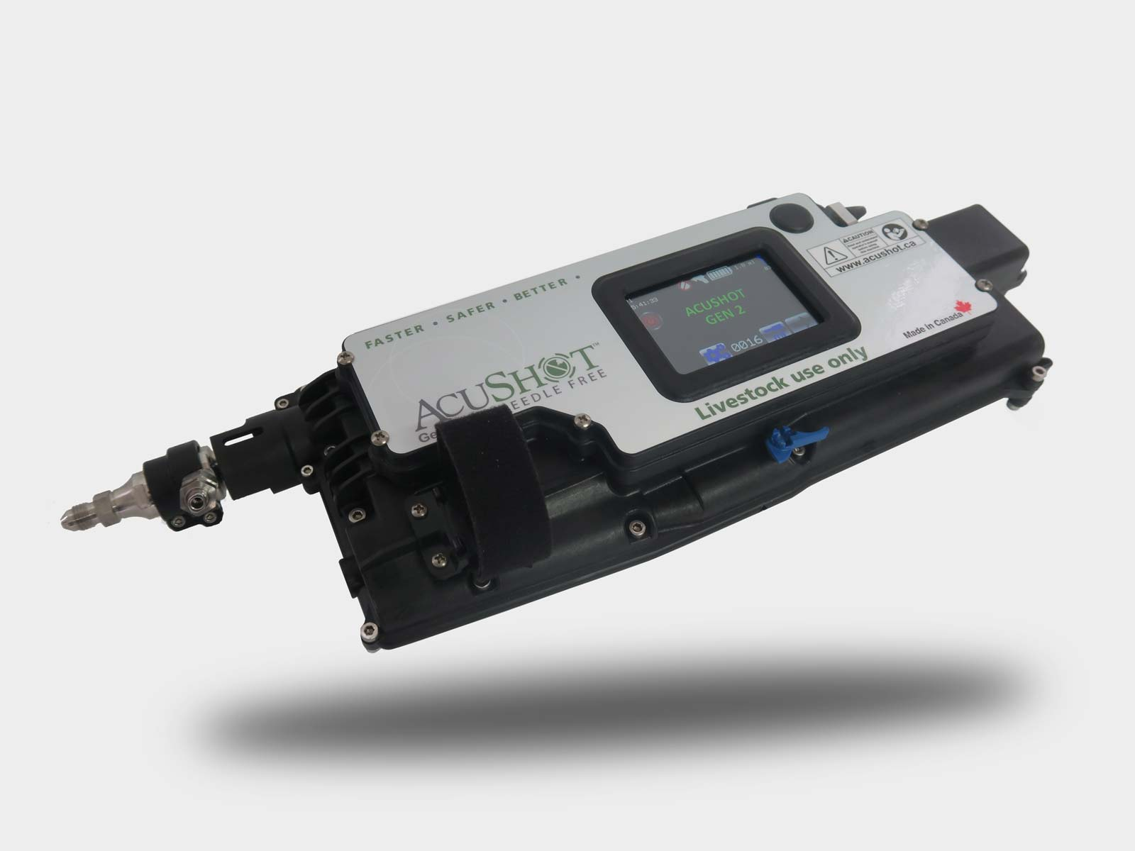 advanced technology needle-free injector mobile unit